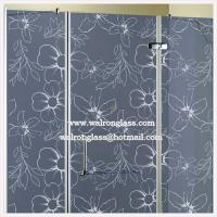 Wholesale Flat Tempered/Toughened/Shower Door Glass with Global Certificate from china suppliers
