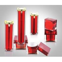 Wholesale 15ml 30ml 50ml Acrylic Square Airless Pump Bottles, Square Acrylic Cream Jars from china suppliers