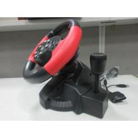 Wholesale video game steering/ racing wheel with foot pedal for PC, X-INPUT, PS2, PS3 from china suppliers