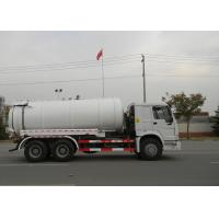 Wholesale 19CBM LHD 336HP Sewer Vacuum Truck 6×4 For Oil Chemical Sewage Tank Sediment Suction from china suppliers