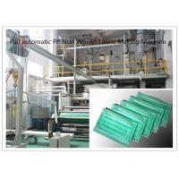 Buy cheap Full automatic PP Non Woven Fabric Making Machine 0 - 300m/min High Speed from wholesalers