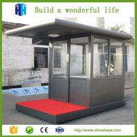 Wholesale 2017 hot sale prefab sentry box guard room durable prefab prefab house from china suppliers