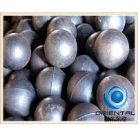 Wholesale High Chrome cast grinding steel balls , Surface hardness HRC 60 to 65 casting steel ball from china suppliers