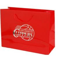 Wholesale Popular Custom Printed Paper Grocery Bags / Personalized Logo Shopping Bags from china suppliers