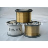 Wholesale hot sale bashan 0.1mm- 0.3 mm CuZn35 edm brass wire from china suppliers