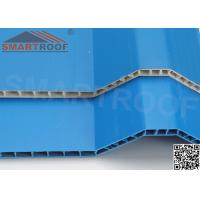 China Flaming Resistant Industrial Roofing Sheet 40MM Wave Height Trapezoid on sale