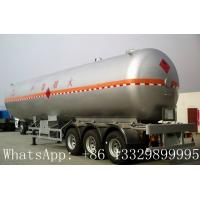 Wholesale China famous leading bulk propane gas tank semitrailer for sale, hot sale best price lpg gas tank semitrailer for sale from china suppliers