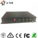 Wholesale Single Mode SDI To Fiber Optic Converter 1 Channel RS485 Reverse Data 20km 12 Watt from china suppliers