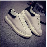 Wholesale Brand designer trainers comfortable casual sneakers white lady comfortable calfskin Lace Up Shoes HC-104-1 from china suppliers