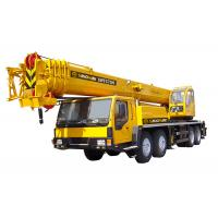Wholesale Engineering Hydraulic Mobile Crane , Telescopic Mobile Boom Crane 70 ton from china suppliers