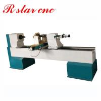 China Hot sale 1500mm automatic cnc wood turning lathe for wooden legs on sale