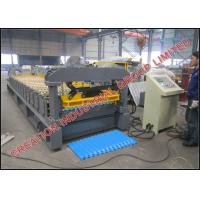 Wholesale Corrugated Cameroon Aluminium Zinc Roofing Sheet Making Machine for 50 Pieces per Bundle from china suppliers