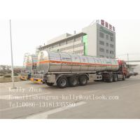 42000L Fuel Tanker Trailer Stainless Steel 304 316 Transporting Trailers