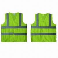 Wholesale Safety Vests, EN471/EN343 Standard, Made of 100% Polyester Mesh from china suppliers