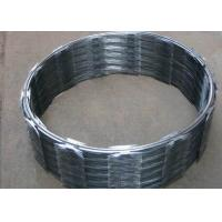 China Hot Dip Galvanized Concertina Razor Wire CBT-65 Stainless Steel High Security on sale