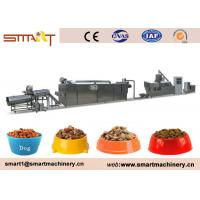 Wholesale Siemens Control 120-150kg / Hr Pet Food Production Line , Pet Food Processing Machinery from china suppliers