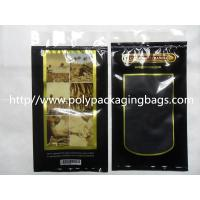Wholesale Moisturized System Cigar Humidor Bags Ziplocked with slider Easy Open & Close from china suppliers