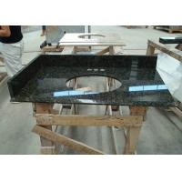 Wholesale Dark Green Uba Tuba Granite Countertops , Polished Granite Stone Countertops from china suppliers