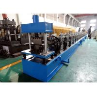 Wholesale Galvanized Quad Gutter Roll Forming Machine , Electric Control Gutter Rolling Machine from china suppliers