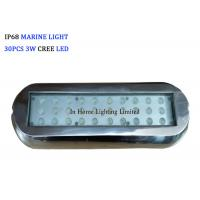 Wholesale 12VDC Rectangle Boat Lights RGB Blue Marine Navigation Light for Marine Lighting from china suppliers
