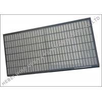 Wholesale Composite Frame Double Deck Screen Strong Oblong Triple Layer Wire Cloth from china suppliers