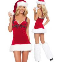 Buy cheap Girls  Miss Clause Adult Christmas Costumes Cosplay Fruit For Party Carnival from Wholesalers