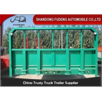 Buy cheap Mechanical Suspension 30 Tons Flatbed Container Trailer from wholesalers