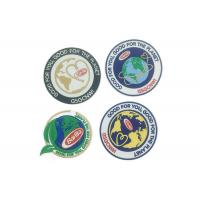 Wholesale Custom Iron On Clothes Adhesive Embroidered Patches Laser Cut Border from china suppliers