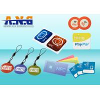 Buy cheap Customize NFC Sticker tags S50 ISO 14443A tracked to a specific person/account from wholesalers