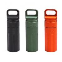 Waterproof Capsule Seal Bottle Outdoor EDC Survival Case Container Holder Outdoor Protect Gears Survival EDC Emergency T