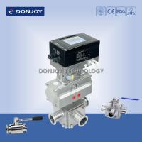 Wholesale Pneumatic  three-way Ball Valve with intelligent positioner IL-TOP from china suppliers
