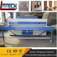 China wooden table cabinet vacuum membrane press machine on sale