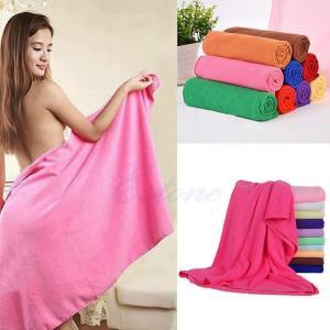 70*140cm Absorbent Microfiber Bath Beach Towel Drying Washcloth Swimwear Shower Portable