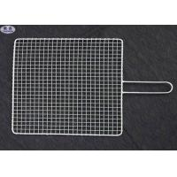 China Custom BBQ Barbecue Grill Wire Mesh Non - Stick Reusable Net For Fish on sale