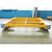 Wholesale cable drum power electric flat cart Abrasive Blasting Rail Transfer Cart as Print Industry from china suppliers