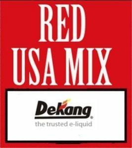 Wholesale Dekang Red / Dark USA Mix E-liquid Ejuice 10ml 20ml 30ml 50ml 0mg 6mg 11mg 16mg 24mg from china suppliers