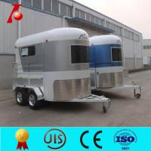 Australian standard horse box trailer sale,2 horse horse float,horse carriage trailer