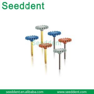 China Dental RA Composit Polisher kit Wheel with diamond sand on sale