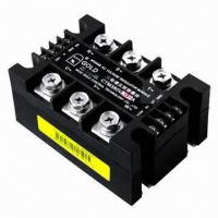 Wholesale 25 to 300A 3-phase AC voltage fan speed controller, automatic power regulator from china suppliers