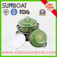 Wholesale Sunboat Factory Supplying Cast Iron Customized Dimension Enamel Casserole Sets from china suppliers