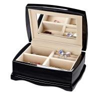 Wholesale High End Black Jewelry / Cosmetic Mahogany, Chestnut, MDF Wooden Storage Boxes from china suppliers