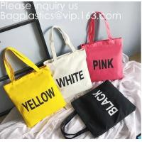 Wholesale 10oz Cotton Canvas Tote Bag With Logo Printed,Canvas Drawstring Zipper Fashion Beach Shopping Tote,Handmade Customized C from china suppliers