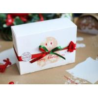 Wholesale Customized Paper Small Christmas Gift Boxes / Xmas Wrapping Boxes from china suppliers