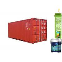China Low VOC Waterborne Shipping Container Paint Water Resistant Two Component on sale