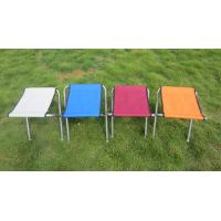 Lightweight Colorful Aluminum Portable Folding Beach Chairs Fising Stool Doub