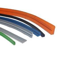 China Tear Resistant Silicone Rubber Extrusions / Silicone Seals with Custom Logo on sale