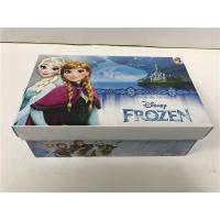 Foam Inside Colored Shoe Boxes , Decorative Shoe Boxes For Girls Shoes CMYK