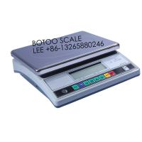 China electirc stainless digital weighing scale for food 8 Keys , big size 30kg on sale