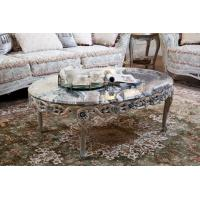 China Classic Carved Marble Center Table For Sale FC-103A on sale