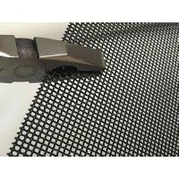 Wholesale Window screen black powder coating stainless steel woven wire mesh from china suppliers